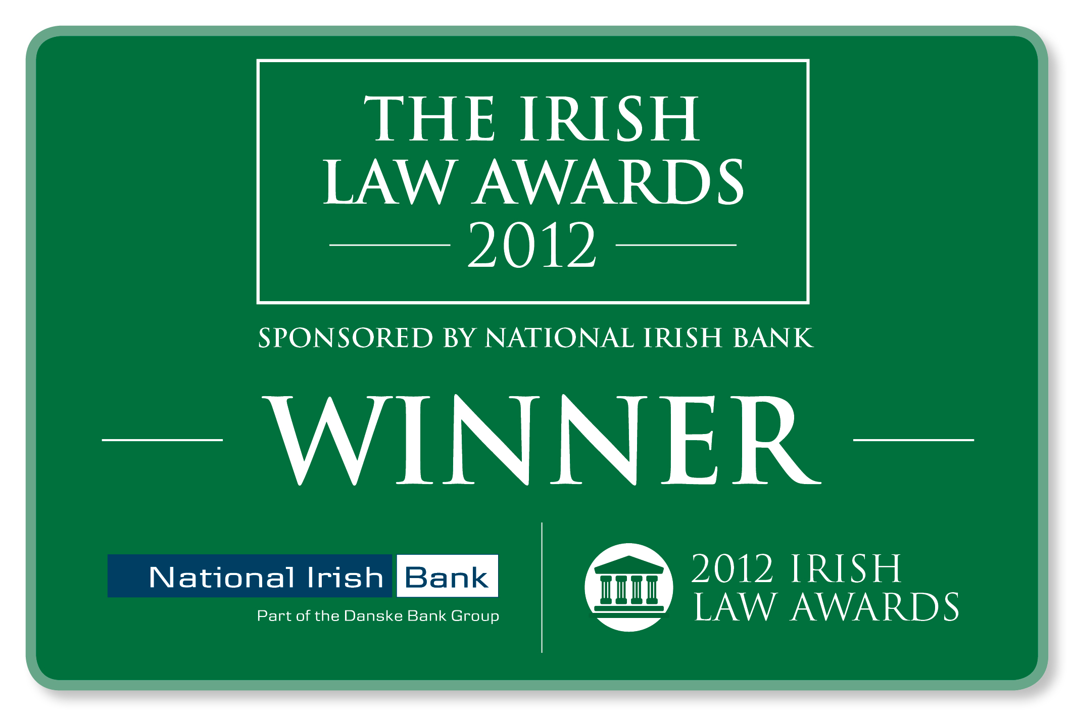 Irish Law Award Winner